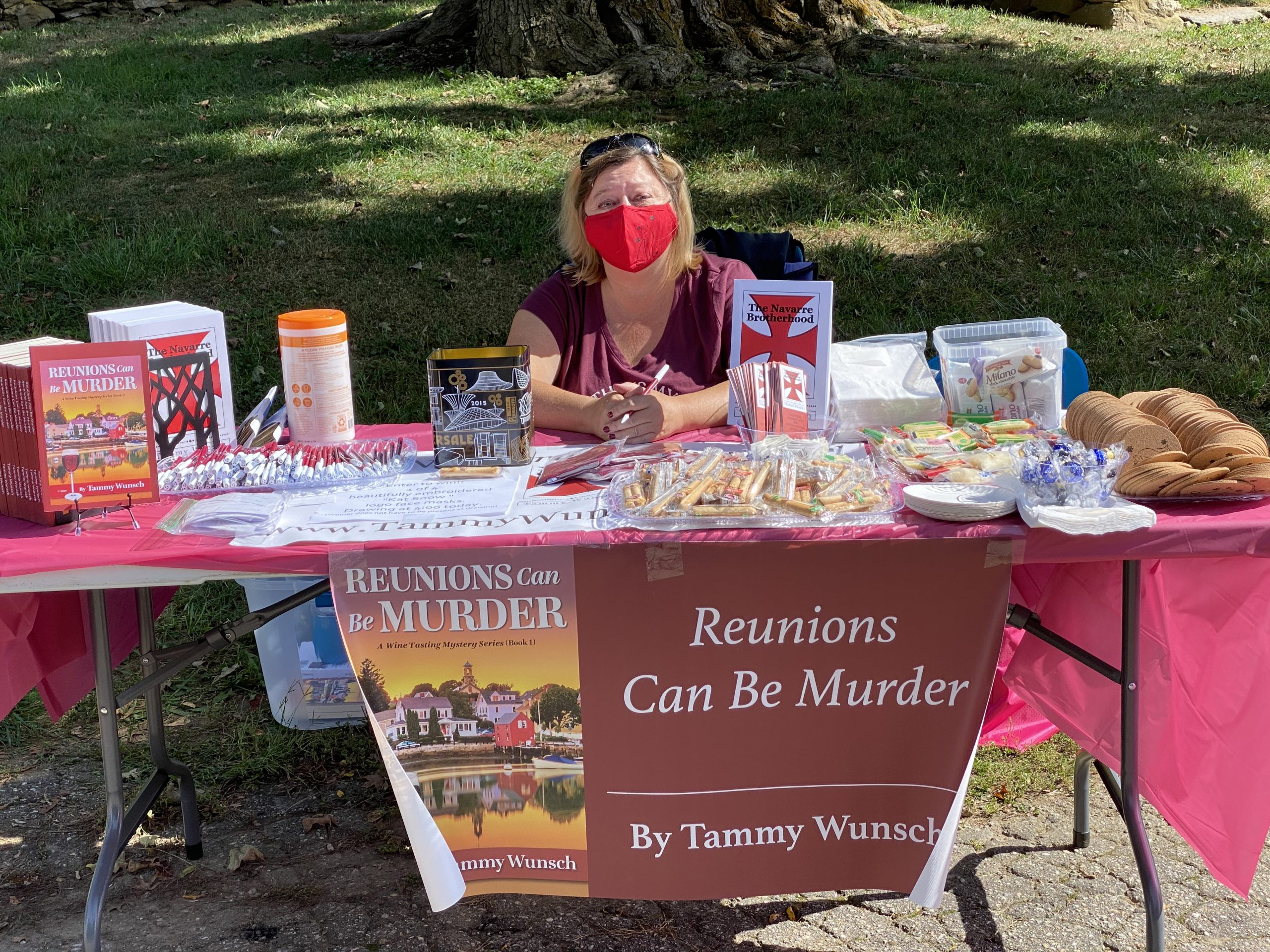 """Reunions Can Be Murder"" Book Launch"